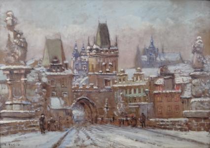 Emanuel Bakla - Zimní Praha (2).JPG