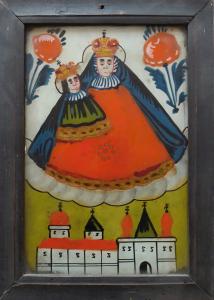 Podmalba na skle - Panna Maria Mariazellská (1).JPG