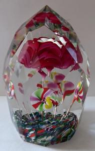 Těžítko s růží a pestrými květy (1).JPG