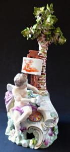Alegorie umění - malířství, porcelánové sousoší (1).JPG
