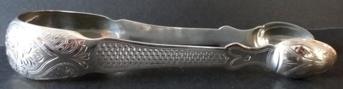 Stříbrné kleštičky  s gravírováním - Friedrich Reichert, Vídeň (1).JPG