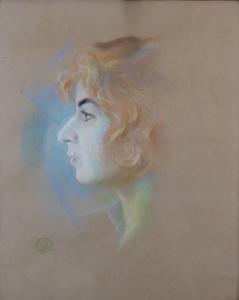 Rudolf Adámek - Portrét dívky (2).JPG