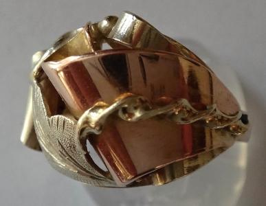 Prsten z růžového a žlutého zlata (1).JPG