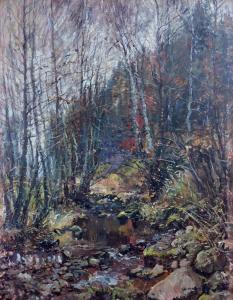 František Charvát - Motiv na Bystřici (2).JPG