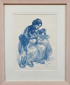Steiner - Sedící matka s dětmi (1).JPG