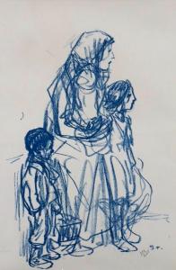 Steiner - Stojící matka s dětmi (2).JPG