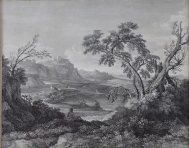 Romantická krajina dle Poussina (2).JPG