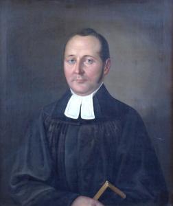 Alexandr Frant. ( Mírobor ) Bělopotocký ( Fejérpataky ) - Portrét kněze (2).JPG