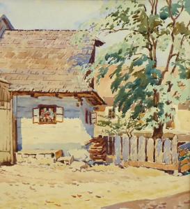 R. Beskyd - Chalupa v Háji , Slovensko (2).JPG