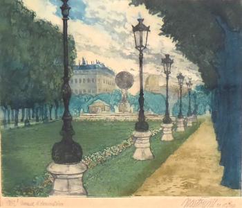Josef Nastoupil - Paříž, Avenue d Observatoire (2).JPG