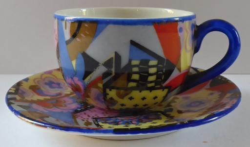 Art deko moka šálek, barevný (1).JPG
