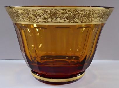 Mísa z ambrového skla, s oroplastikou (1).JPG