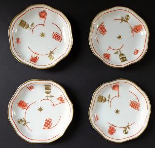 Čtyři mističky, zlacený a červený ornament - Rosenthal (1).JPG