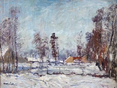 František Charvát - Stavení v zimě (2).JPG