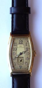 Zlaté náramkové hodinky - IWC, Schaffhausen (1).JPG