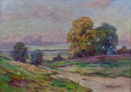 Josef Mathauser - Cesta v lukách (2).JPG