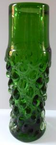 Zelená váza s kapkami - Ladislav Paleček (1).JPG