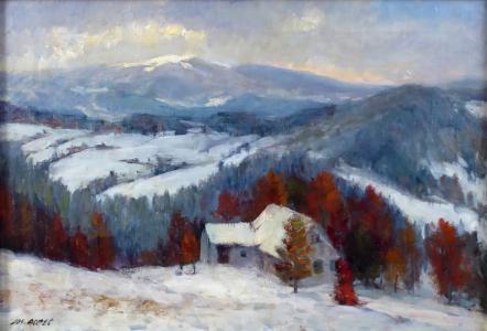 Josef Arnet - Podzim v Krkonoších (2).JPG