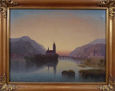 Podvečerní romantická krajina s řekou (1).JPG