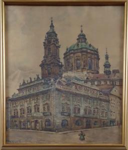 František Pelíšek - Malostranské náměstí (1).JPG