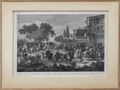 Giacomo Leonardis - Turnaj  turků v Konstantinopoli (1).JPG