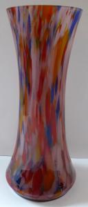 Vázička s pestrobarevným dekorem (1).JPG