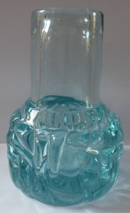 Čirá a světle modrá váza - František Vízner, rok 1975 (1).JPG