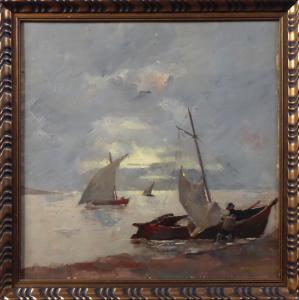Miroslav Kučera - Rybářské loďky (1).JPG