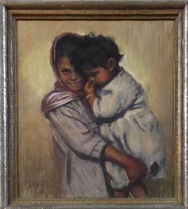 Václav Dobrý - Matka s dítětem (1).JPG