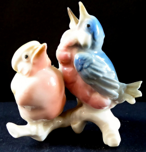 Dva barevní ptáčci, bílá větvička - Karl Ens (1).JPG