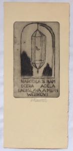 Vladimír Komárek - Oznámení L. a M. Webrovi (1).JPG