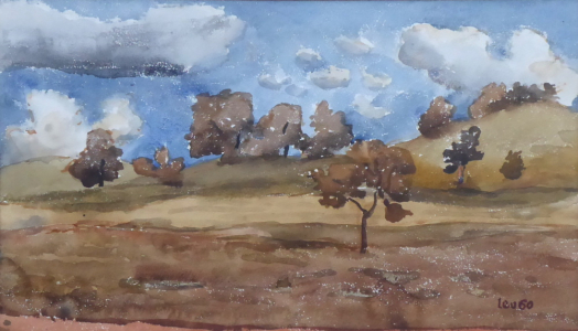 Lev Šimák - Krajina se stromy (2).JPG