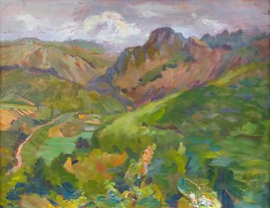 Antonín ( Jarý ) Vrťátko - Pohled do údolí (2).JPG