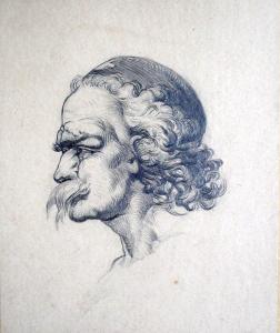 František Bohumír Zvěřina - Portrét muže s knírem (1).JPG