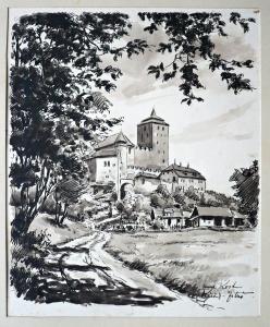Zituš- Křeček - Pohled na hrad Kost (1).JPG