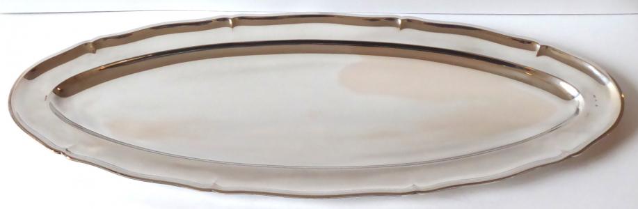 Velký oválný stříbrný tác - Sandrik (1).JPG