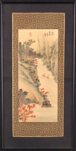 Soutěska na podzim v mlžném oparu - Čína (1).JPG