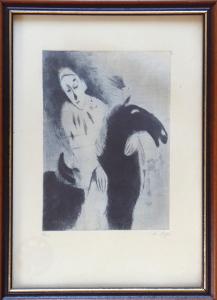Karel Šafář - Kůň a klaun (1).JPG
