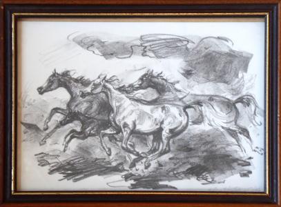 Emil Kotrba - Tři běžící koně (1).JPG
