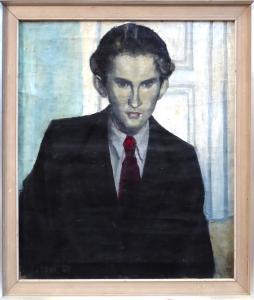 Theodor Bechník - Portrét mladého muže v obleku (1).JPG