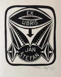 Václav Houf - Ex libris Jan Štefan 1.  (1).JPG