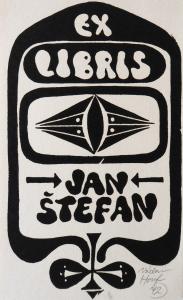 Václav Houf - Ex libris Jan Štefan 2. (1).JPG