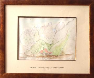 Charlotta Pipenhagenová - Stavení v horách , Monte Cristallo (1).JPG