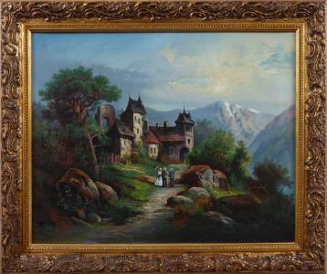 Zámeček v horské krajině (1).JPG