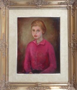 Miloslava Vrbová-Štefková - Portrét dívky (1).JPG