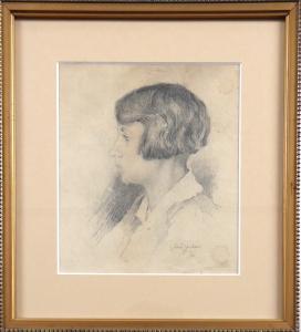 Gustav Porš - Portrét dívky (1).JPG