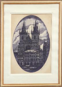 Petr Růžička - Praha , Týnský chrám (1).JPG