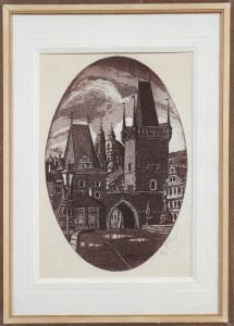 Petr Růžička - Praha, Mostecká věž (1).JPG