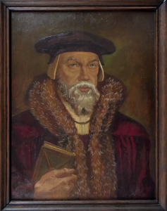 Herbert Seemann, Josef Gassler - Portrét renesančního muže (1).JPG