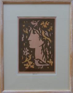 Ludmila Jiřincová - Léto, dívka s ptáčky (1).JPG